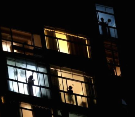 Protest sees millions banging pots and pans from balconies in Brazil as they criticize President Jair Bolsonaro