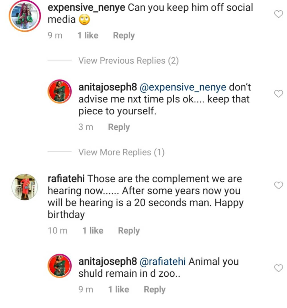 May amadioha enter your love story - Anita Joseph slams trolls telling her to keep her man off social media