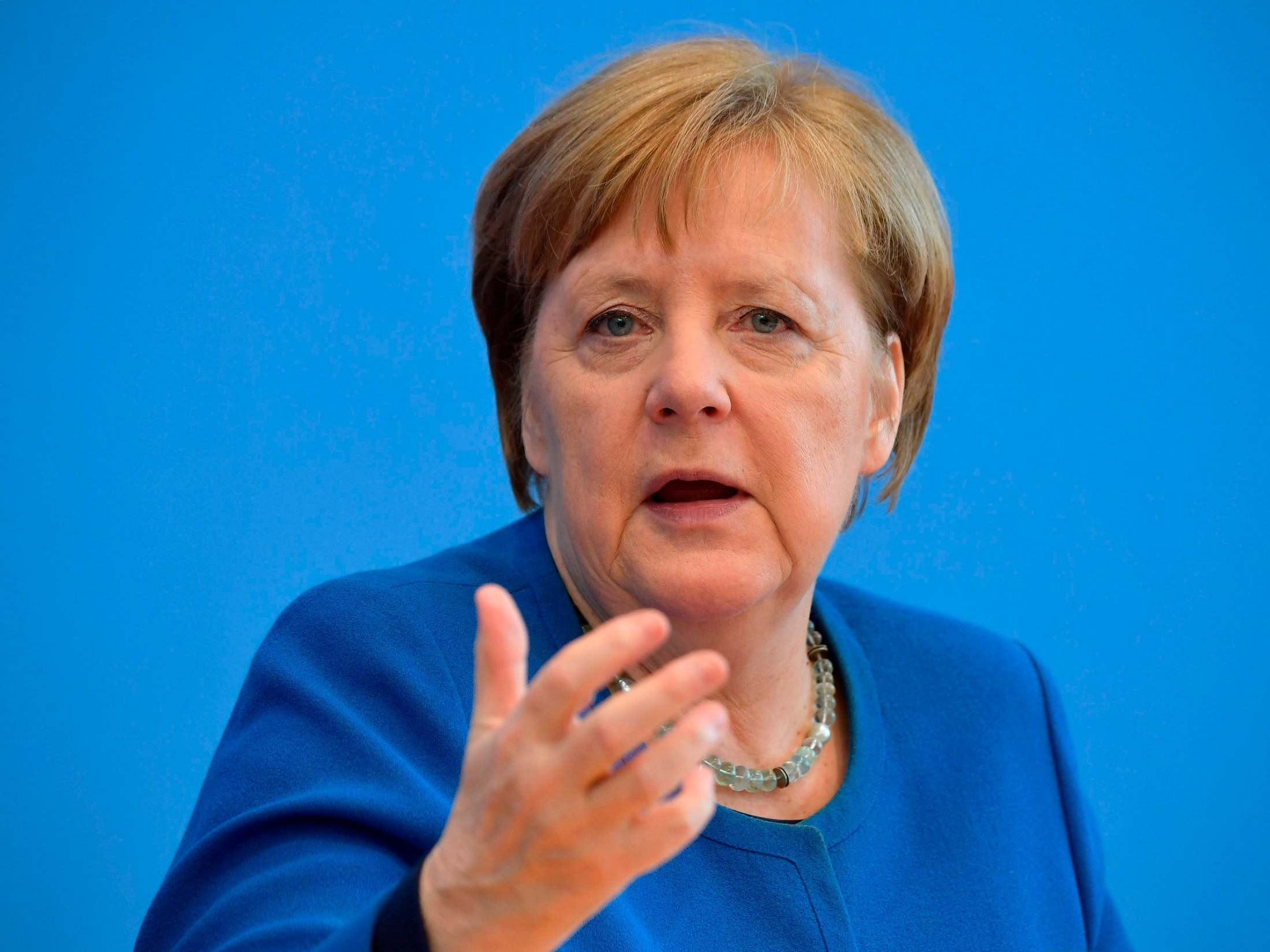 Angela Merkel in self-isolation after her doctor tested positive for coronavirus
