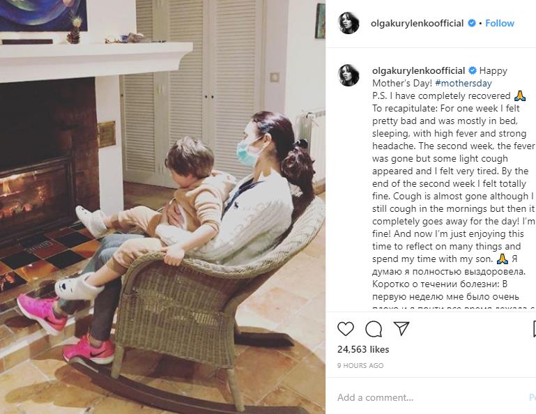 """I have completely recovered!"" Bond girl Olga Kurylenko reveals she"