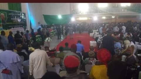 Coronavirus: Imo State Government swears in commissioners, aides at ceremony attended by large number of people (photos)