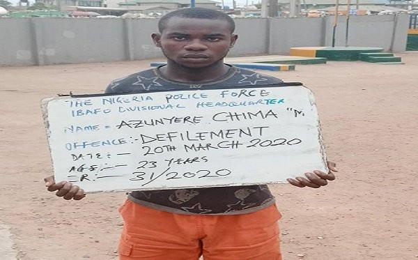 Ogun police arrest school teacher for allegedly defiling his 14-year-old student