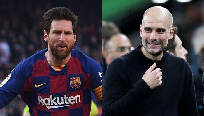 Pep Guardiola and Lionel Messi donate ?1million each to help fight coronavirus