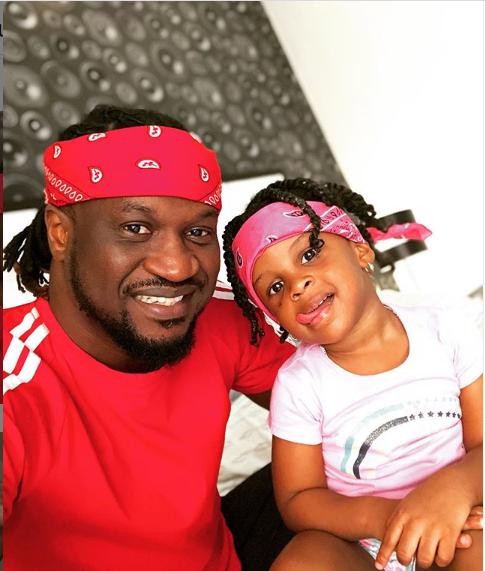 Adorable photos of Paul Okoye and his children