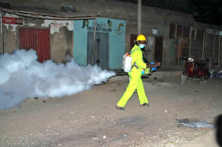 Kano state govt fumigates, parks, markets over Coronavirus pandemic (photos)