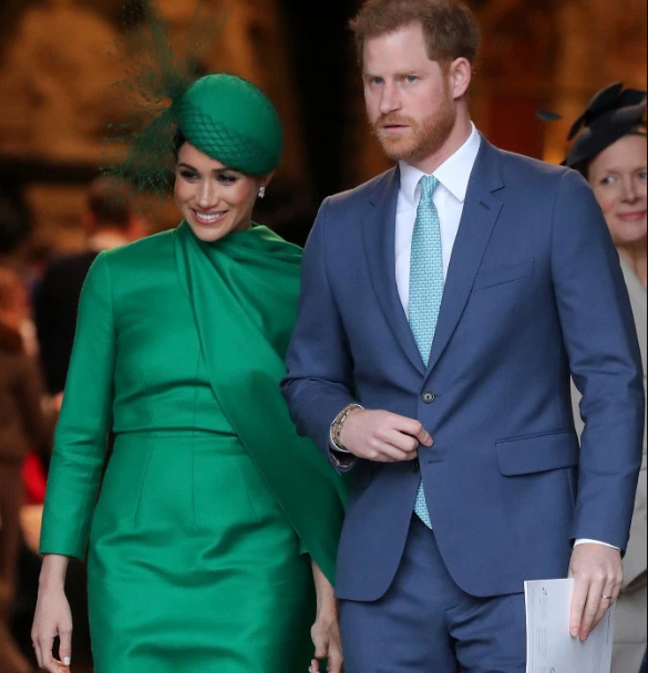 Meghan Markle and Prince Harry relocated from Canada to Meghan