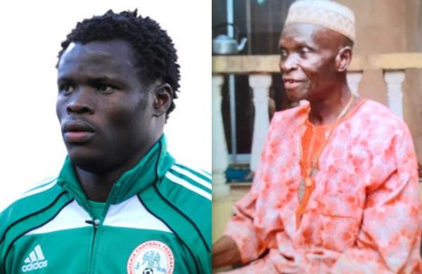 Footballer Taye Taiwo loses his father