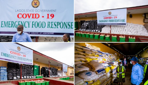 COVID-19: Lagos government to provide staple foods to 200,000 households