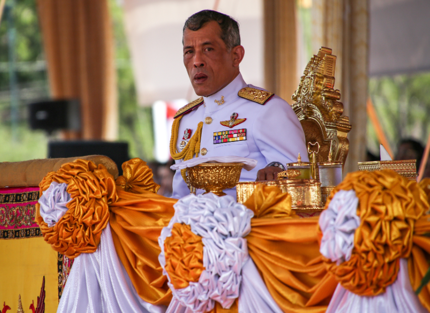 ?Coronavirus: Thai king allegedly flees country and now self-isolating in a luxury hotel with harem of 20 women in Germany