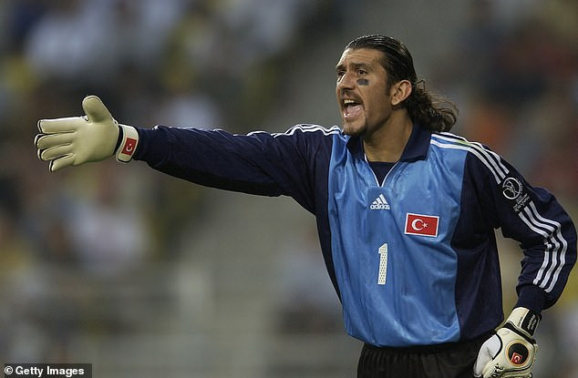 Former Turkey goalkeeper Rustu Recber in 'critical' condition after testing positive for coronavirus