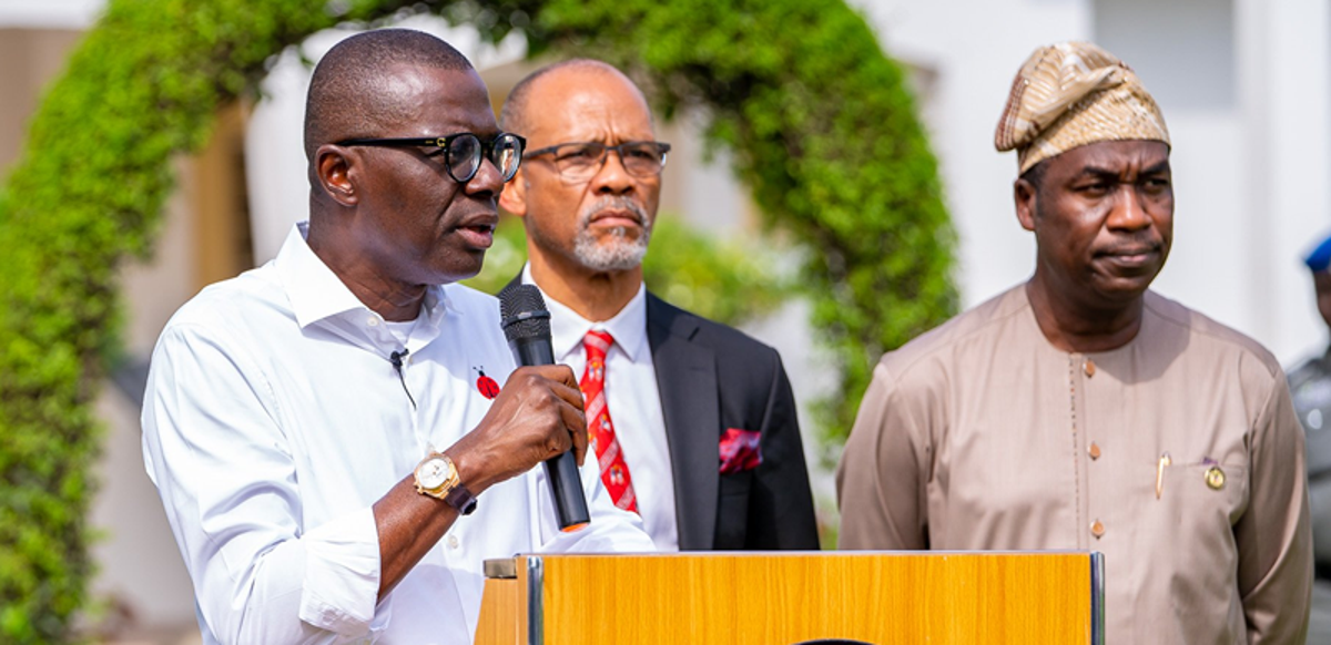 Coronavirus:  Go and do your last minute shopping now- Governor Sanwo-Olu advises Lagosians as he reacts to Buhari