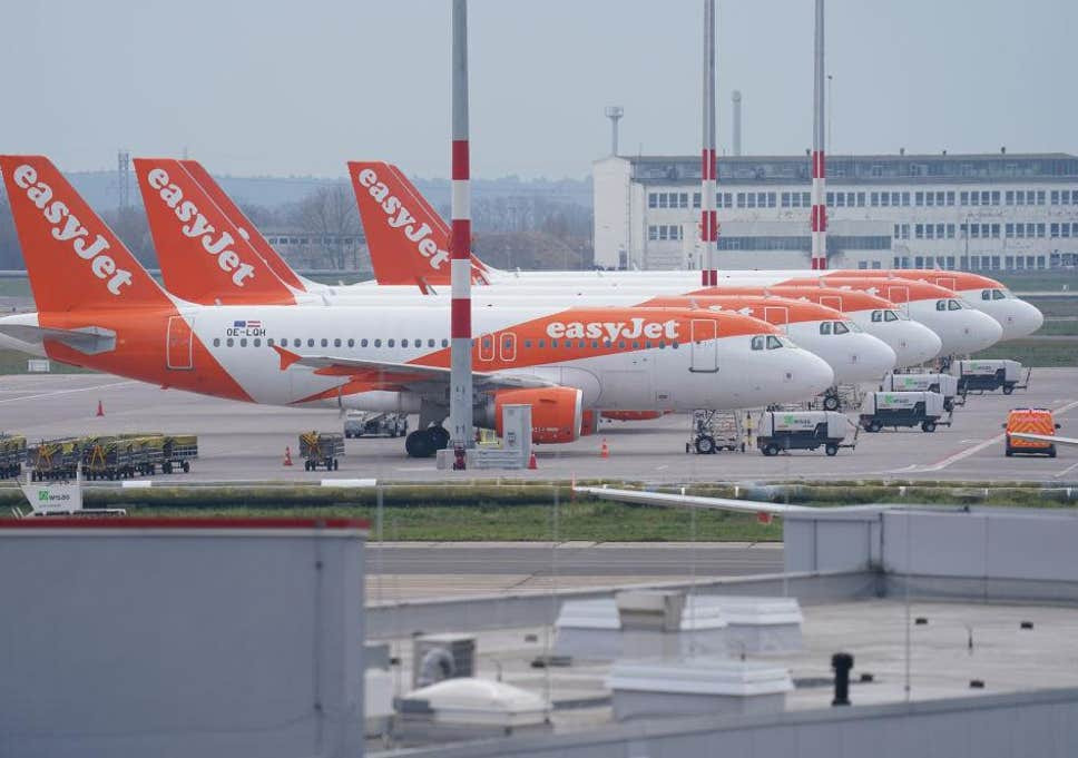 Coronavirus: EasyJet grounds all flights due to COVID-19 pandemic