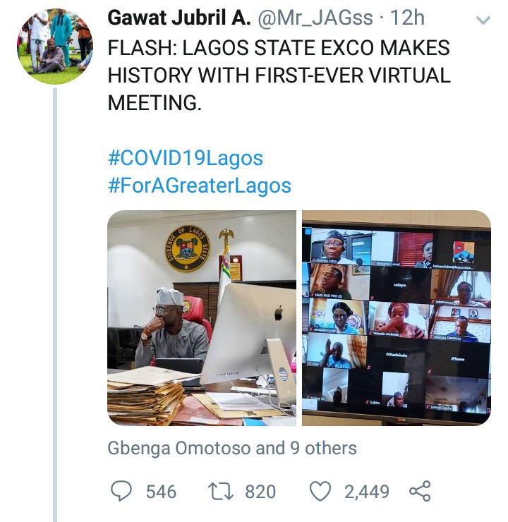 Nigerians slam SSA to the Governor of Lagos for