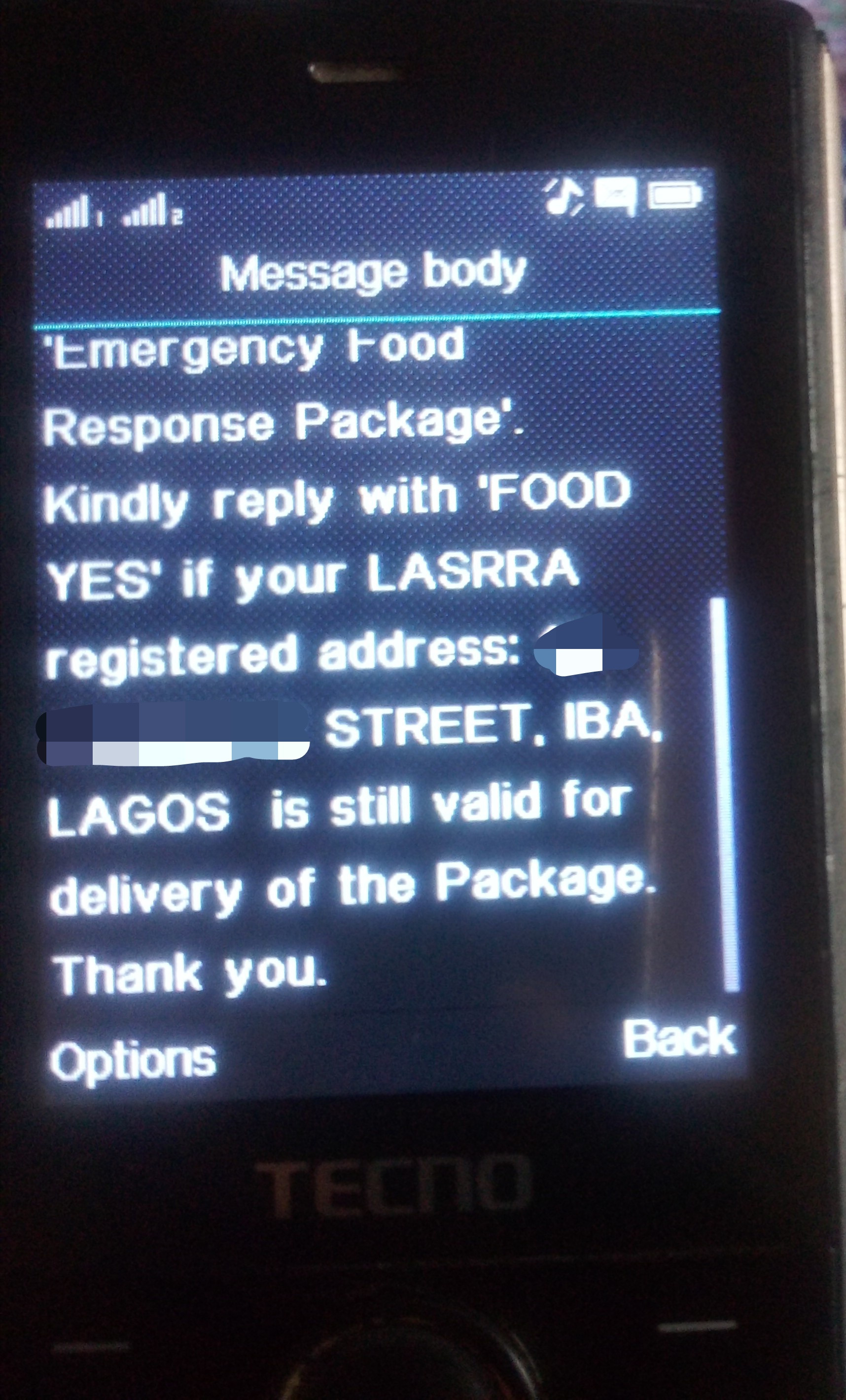 Lagos Confirms Authencity of SMS on Stimulus Package