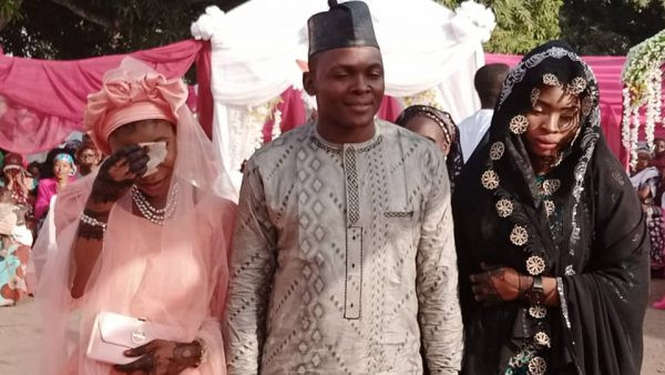 Photos: Meet the Nasarawa state councillor who married two women on same day