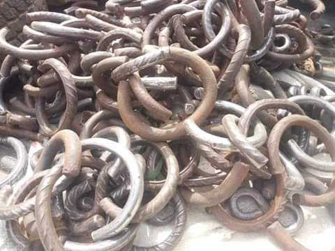 Zamfara State Govt burst illegal rehabilitation centre, rescue 57 inmates tied in chains (photos)