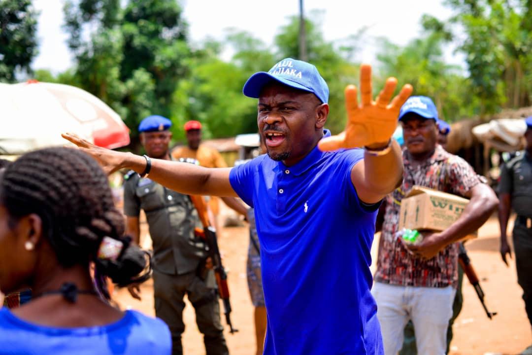 Paul Orajiaka Lends A Helping Hand To Anambra Communities