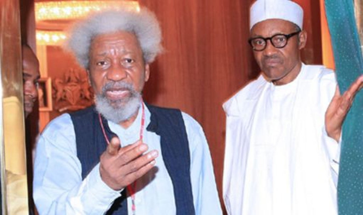 Coronavirus Lockdown: Write a play on pandemic later, Coronavirus is about science and not fiction - Presidency replies Soyinka