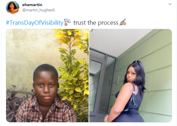 #TransDayOfVisibility: Trans men and women share their before and after photos, changes leaves social media in shock
