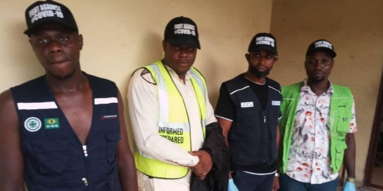 COVID-19: Police arrest fake health officers with adulterated sanitizers in Onitsha