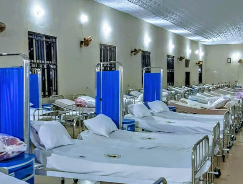 Coronavirus: See photos of the 240-bed Isolation Centre taking shape at the NYSC Camp in Anambra State