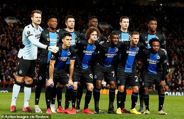 Coronavirus: Belgian football chiefs cancel the rest of the top flight season and declare Club Brugge champions