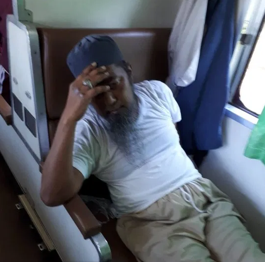 Coronavirus infected man spits on passenger