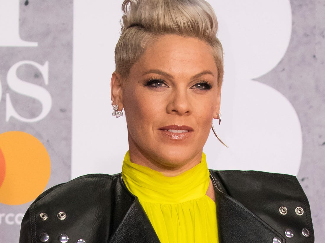 American singer, Pink reveals that she tested positive for Coronavirus, slams US government for not making testing available