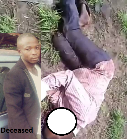 """Man calls for justice as he shares graphic footage of his father and brother killed by """"Fulani herdsmen"""" in Ondo state"""