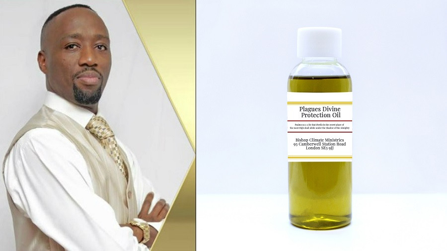 Kenyan Pastor investigated in UK for selling oil he claims can protect his members from Coronavirus