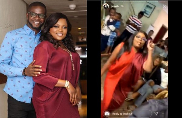 Funke Akindele reveals why they held a houseparty, deletes tweets after being dragged (see screenshots)