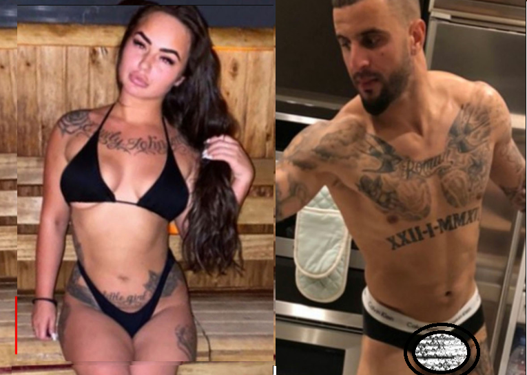 Man. City defender, Kyle Walker hosted sex party with two escorts while on Coronavirus lockdown (photos)