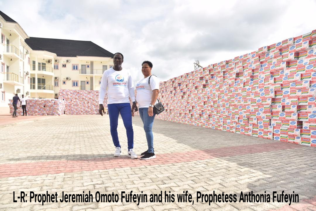 COVID-19: Jeremiah Omoto Fufeyin Foundation donates relief materials worth 25million to Delta Govt