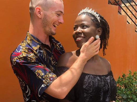 Coronavirus Lockdown: Young couple trek back home after their wedding in Uganda (photos)