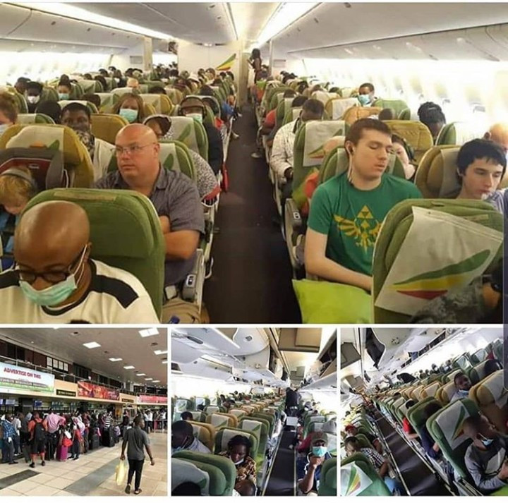 376 American nationals eventually evacuated from Nigeria to Washington DC (photos)