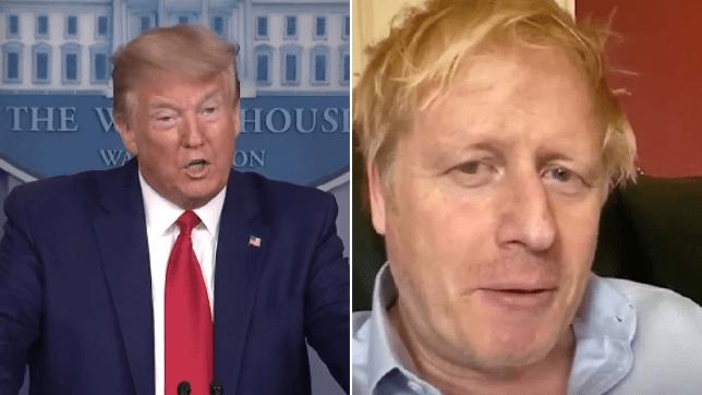 Coronavirus: Donald Trump tells drug companies to help out Boris Johnson?