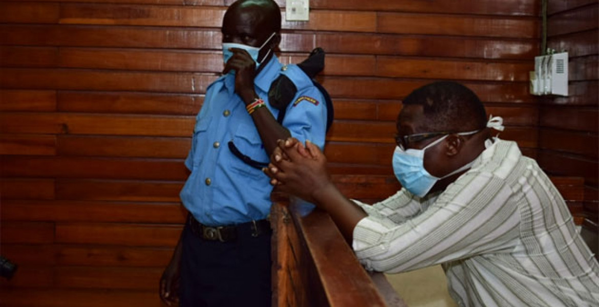 Kenyan Deputy Governor, Gideon Saburi to spend three more days in police cell after being arrested for violating Coronavirus quarantine order (Video/Photos)