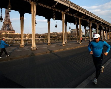 Paris bans daytime jogging to curb the spread of Coronavirus