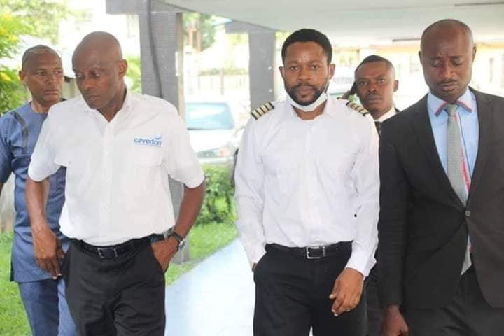 Two Caverton pilots remanded in prison custody for flying in expatriates into Rivers state