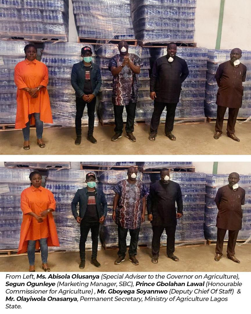 Stronger Together: Seven-Up Bottling Company Donates 2 Million Bottles of Aquafina Premium Table Water and Other Beverages to Relief Projects Across Nigeria