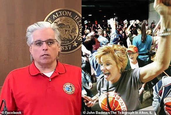 US mayor left shocked after sending police to break up parties amid Coronavirus lockdown only to find his wife at one of them