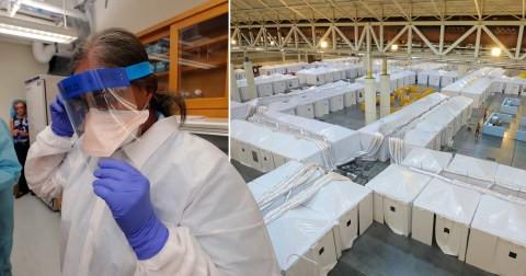 Day old baby girl dies after her Coronavirus stricken mum went into premature labor