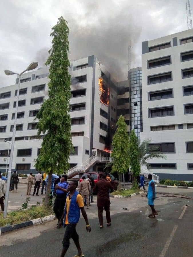 Accountant General?s office in Abuja gutted by fire (photos)