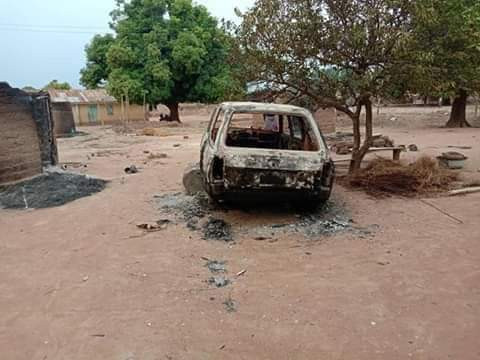 Jukun/Tiv crisis: 3 killed, houses, crops razed in renewed attack on Benue community (photos)