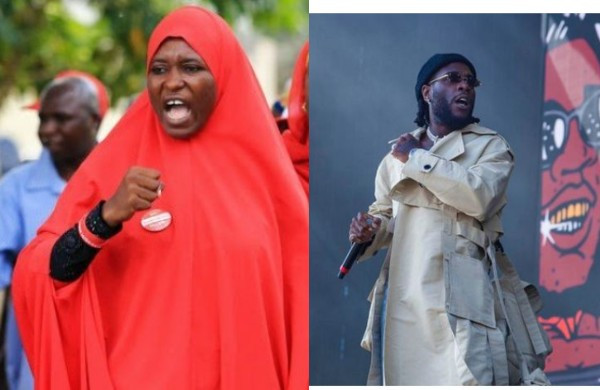 Any celebrity that messes up will be called out, if you have a problem with it take a dive anywhere - Activist, Aisha Yesufu slams Burna Boy (video)