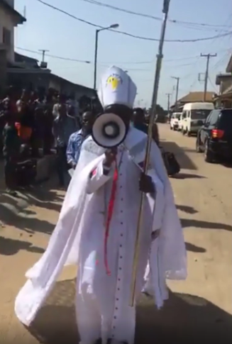 Archbishop Samson Mustapha Benjamin protests against 5G (video)