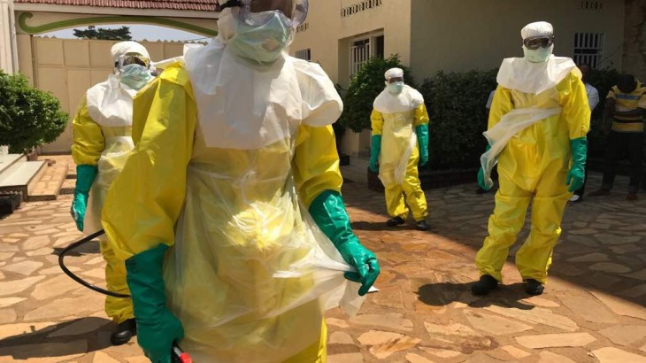 New Ebola case logged in DR Congo days before outbreak