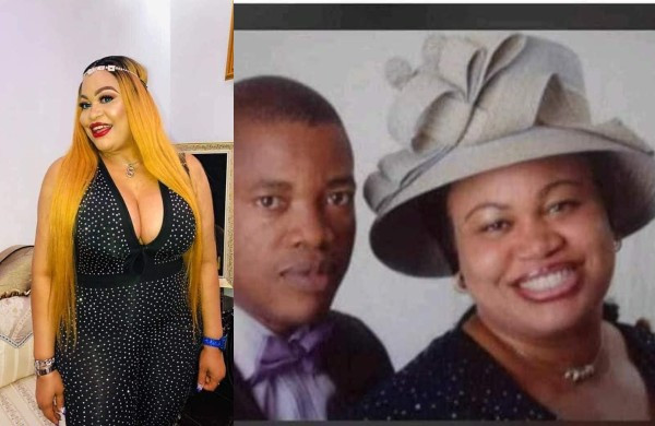Ex-Pastor's wife who is now a self-confessed runs girl calls out Uyo politician's wife for threatening her over her husband (Photos/Videos)