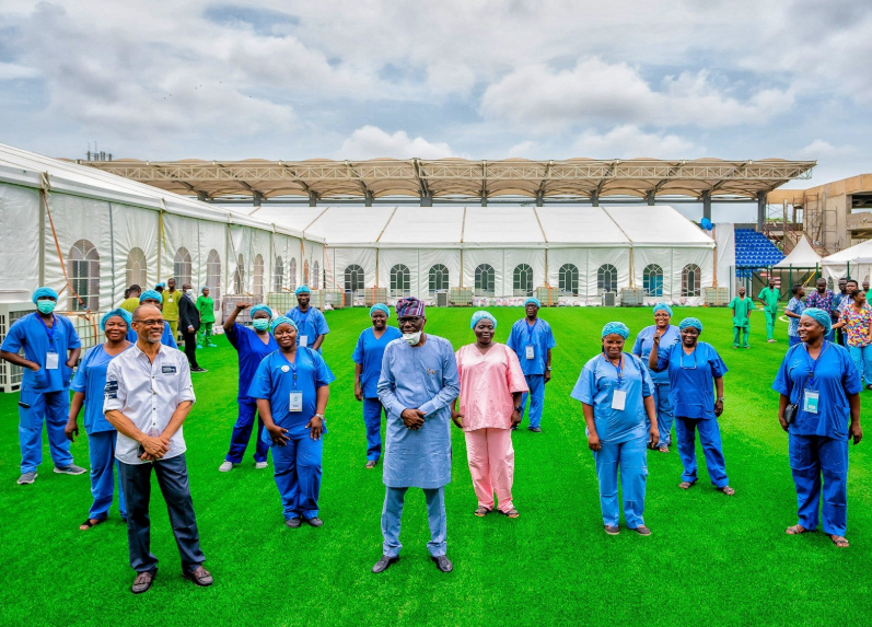 Governor Sanwo-Olu announces recovery of four COVID19 patients, shares photos of other patients that have been discharged in the state