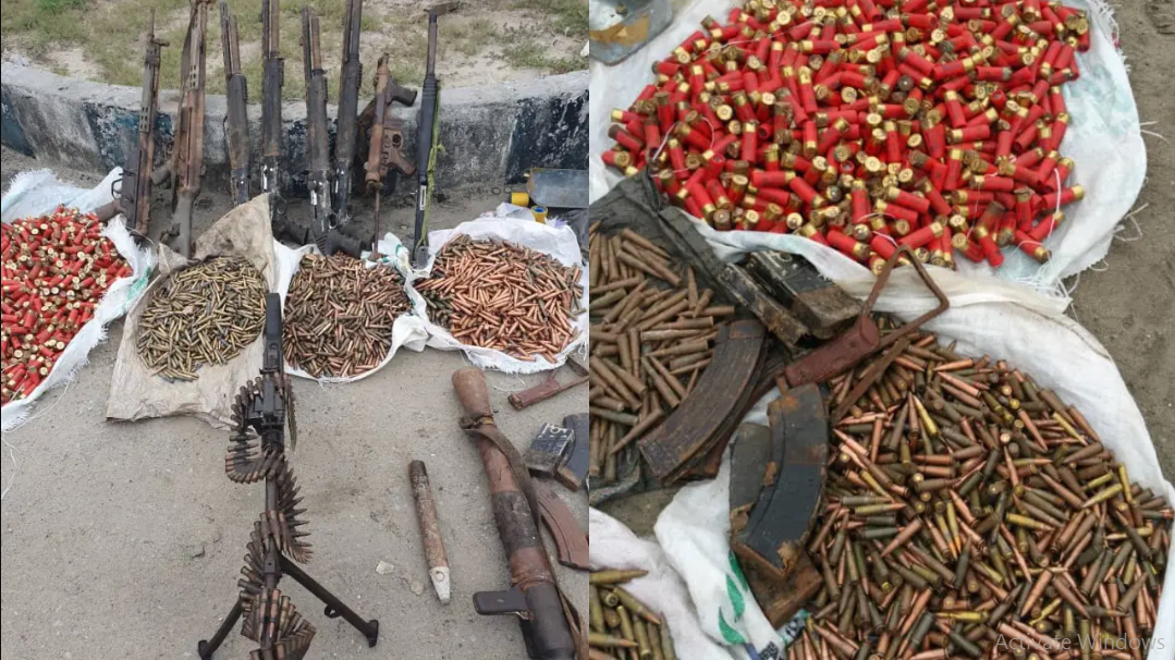 Kidnap kingpin killed in Rivers state, large cache of arms recovered